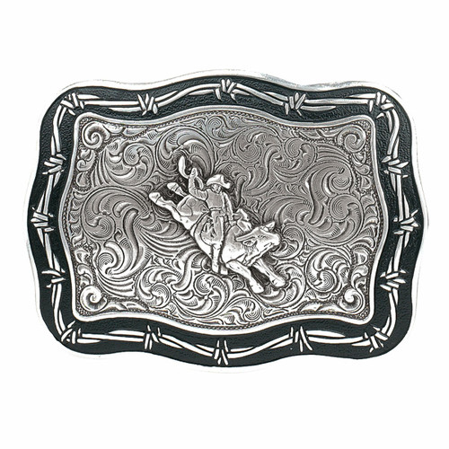 Crumrine Vintage Bull Rider Buckle by M&F 38028