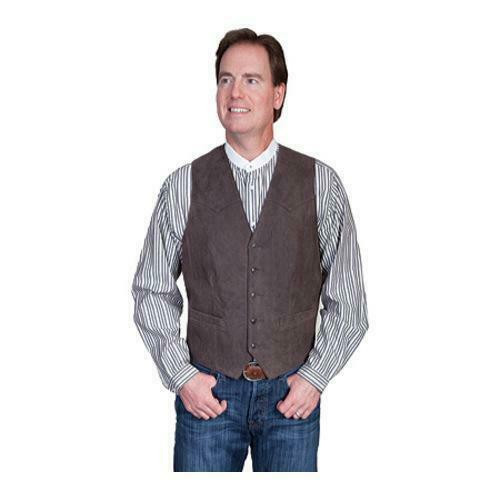 Men's Distressed Lambskin Western Vest by Scully Leather 503-63