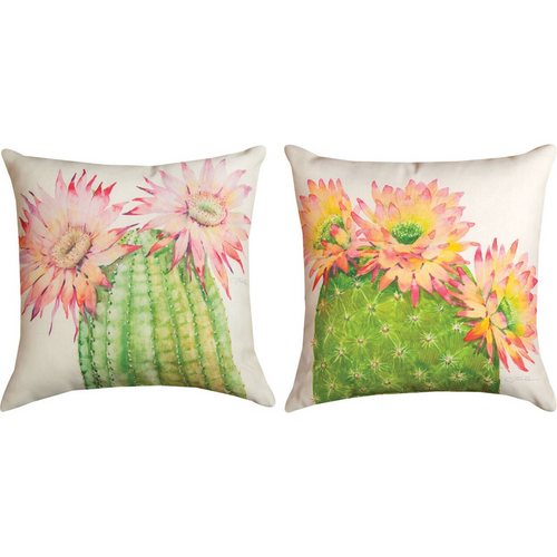 Desert Blossoms Pillow by Manual Woodworkers SLDBLO