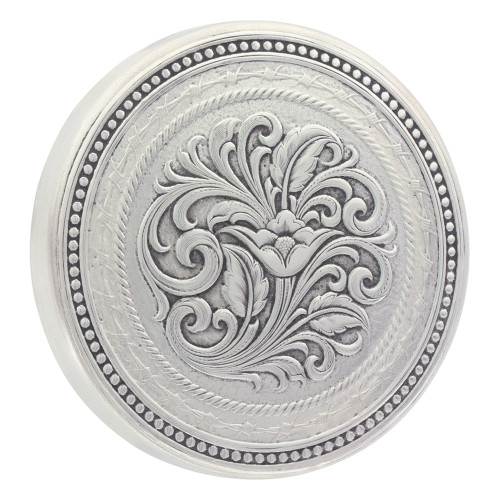 Snuff Can Lid by Montana Silversmith LID8NF