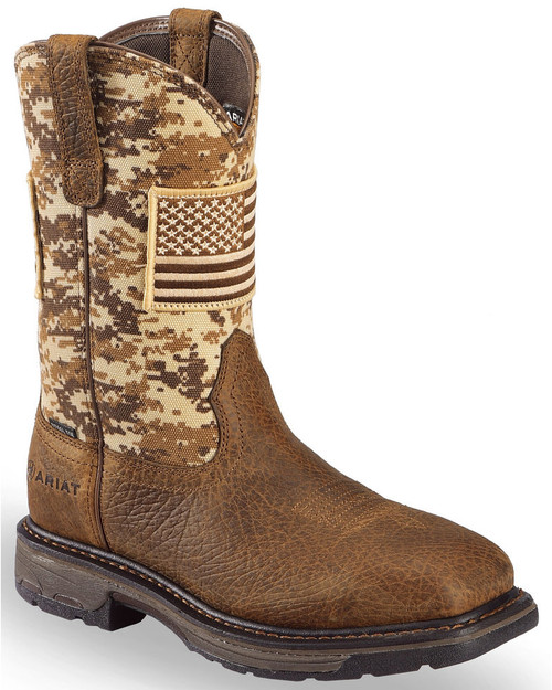 35a4607834f Men's Carbo-Tec LT Alloy Toe Waterproof Pull-On Boot by Georgia Boot ...