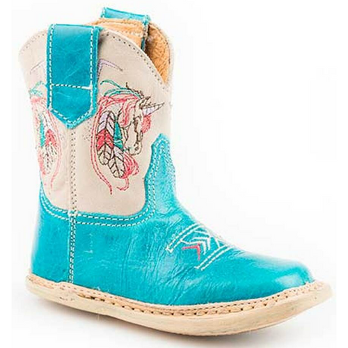 Infants Embroidered Unicorn Cowbabie Boot by Roper 9-16-7912-1366
