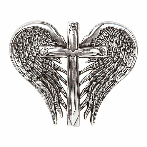Cross and Wings Buckle by M&F Western 37906