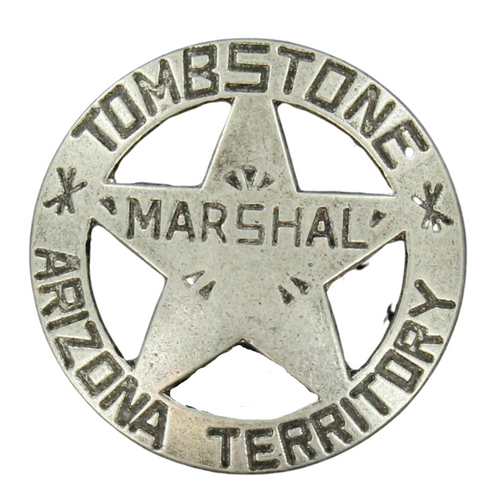 Kids Pewter Marshal Star Badge  by M&F Western 28222