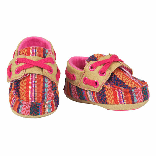 Infant's Blazin' Roxx Riley Baby Bucker Shoe by M&F Western 4423897