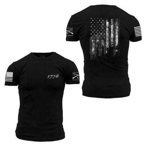 1776 Flag T-Shirt by Grunt Style GS2610