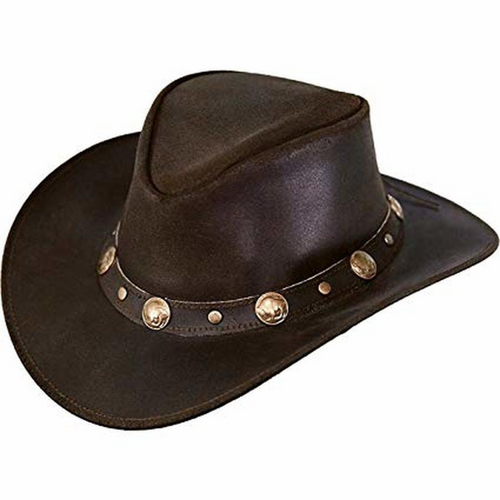 Rawhide Leather Aussie Hat by Outback Trading 1376