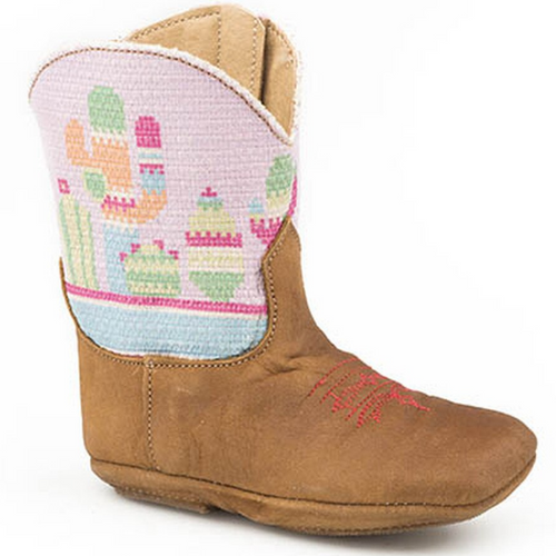 Infant's Textile Cactus Cowbaby Boots by Roper 9-16-7907-1374