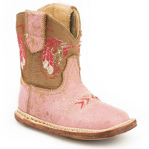 Infant's Embroidered Unicorn Cowbaby Boots by Roper 9-16-7912-1375