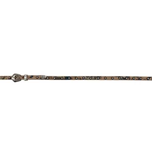 Floral Embossed Leather Hatband by M&F Western DH151