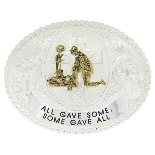 All Gave Some Belt Buckle by Montana Silversmith 12011