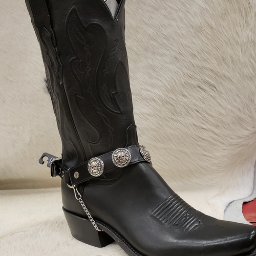 Skull Concho Boot Bracelet by Fashion West BBR-18
