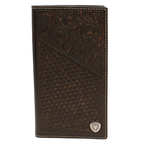 Ariat Basketweave Rodeo Wallet A3540208