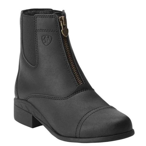 Children's Scout Black Zip Paddock Boots by Ariat 10015198