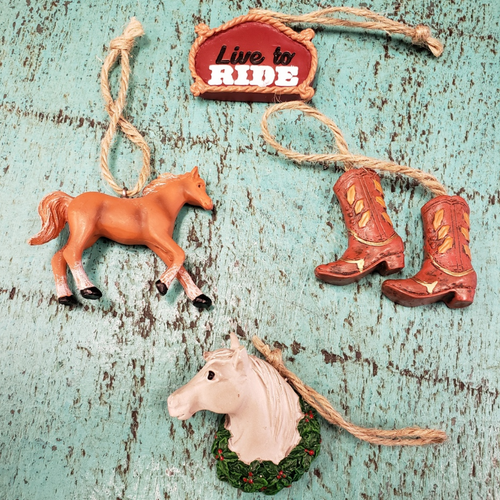Western Ornaments by Giftcraft 660891