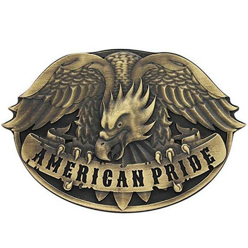 American Pride Buckle by Montana Silversmith A494C