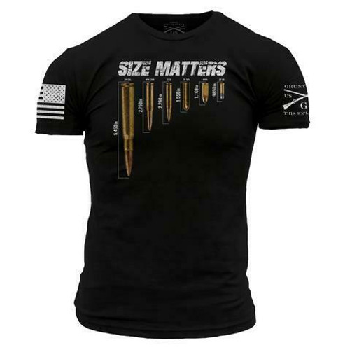 Size Matters T-Shirt by Grunt Style GS2563