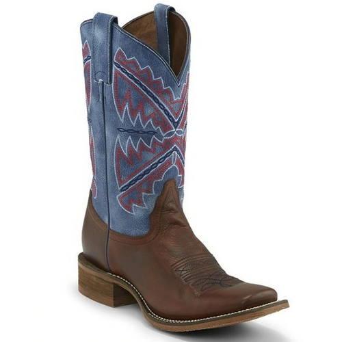 Women's Naida Blue Western Boot by Nocona NL5417