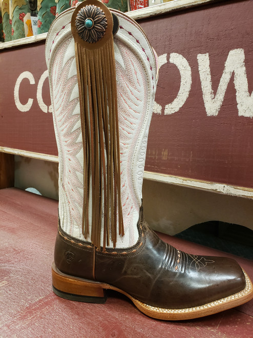 Copper Daisy Flower Fringe Boot Fling Thing by Rodeo Drive 2512