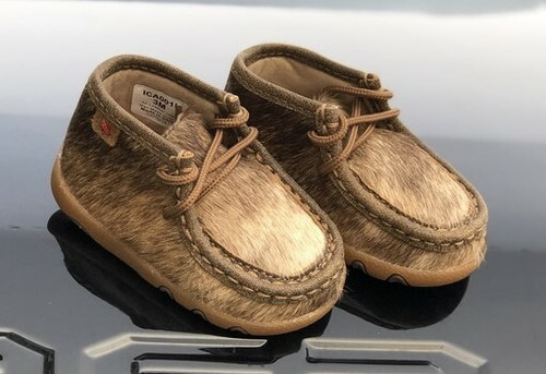 Infant Brindle Chukka Driving Moc by Twisted X ICA0015