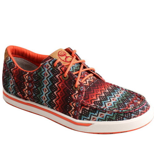 Women's Aztec Hooey Loper Shoe By Twisted X WHYC013
