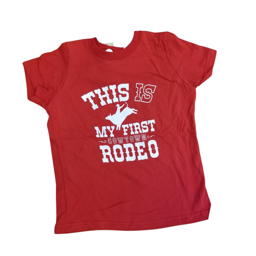 This is My First Cowtown Rodeo Shirt 20474TR