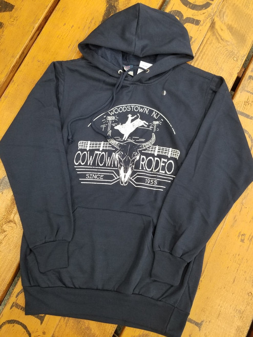 Cowtown Rodeo Bull Rider Hooded Sweatshirt by MV Sport 139N