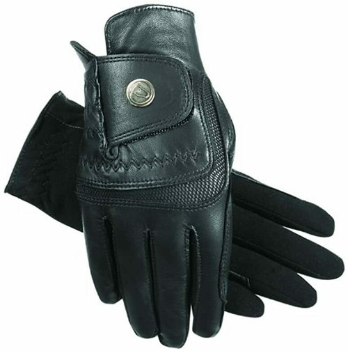 Hybrid Extreme Leather Riding Glove by SSG 4200