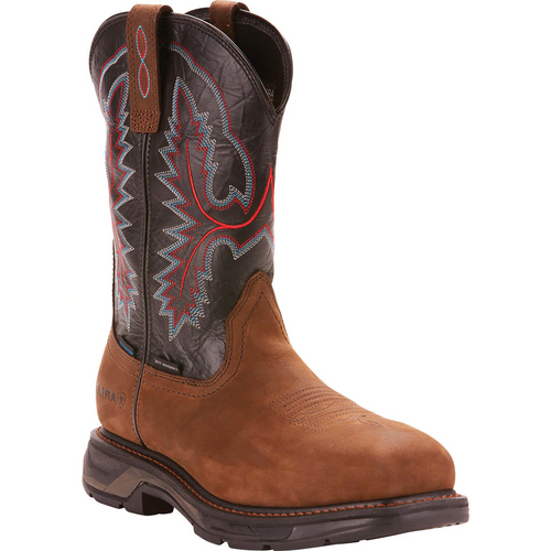 Men's Workhog XT Sq H20 Carbon Toe Boot by Ariat 10024968
