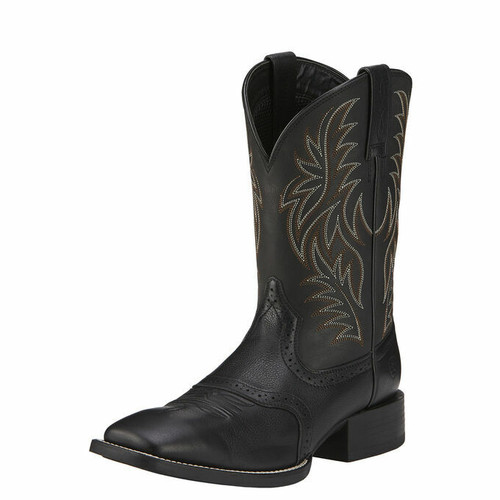 Men's Sport Wide Square Toe Western Boot by Ariat 10016292