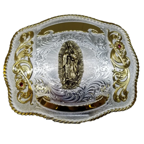 Guadalupe Custom Buckle by Montana Silversmith 1503-523