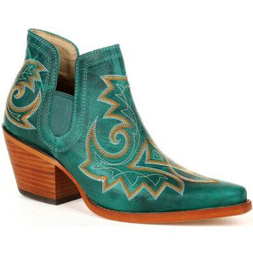 Crush By Durango Women's Turquoise Western Fashion Bootie DRD0400