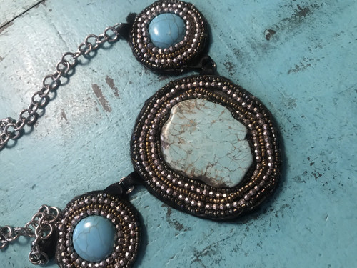 Tri Beaded Necklace 29506