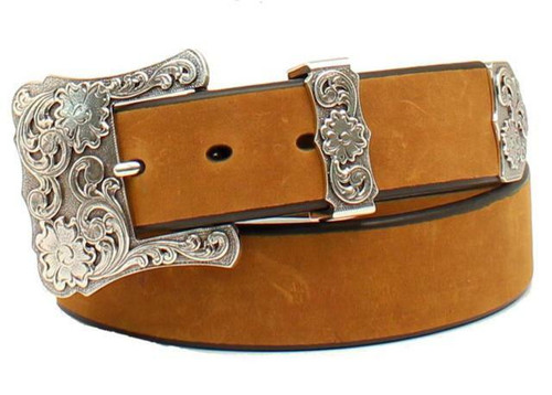 Women's Western Belt Floral Engraved by Nocona N3497744