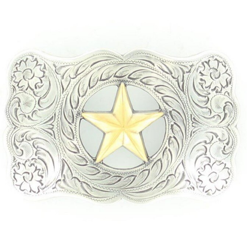 Rectangle Star Buckle by M&F Western 37232