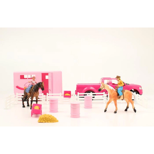 Bigtime Rodeo Barrel Racing Play Set by M&F Western 50644