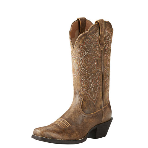 Ariat Round Up Square Toe Western Boot 10021620 front