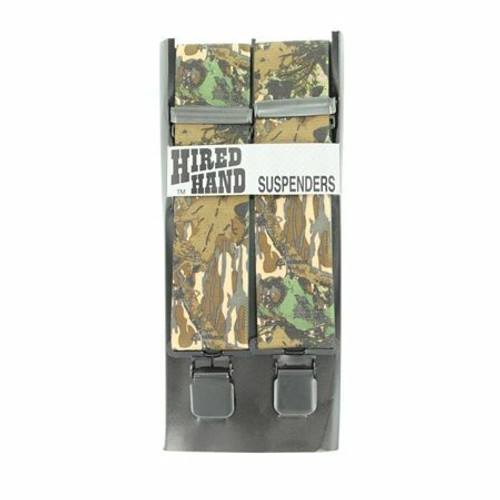 Hired Hand Camo Suspenders N85101222L