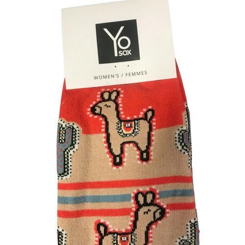 Women's Party Llama Socks by Sockclub 10113150