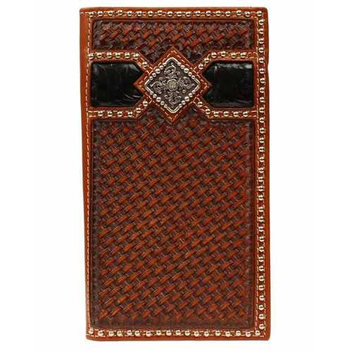 Ariat Basket Weave Rodeo Wallet A3513267