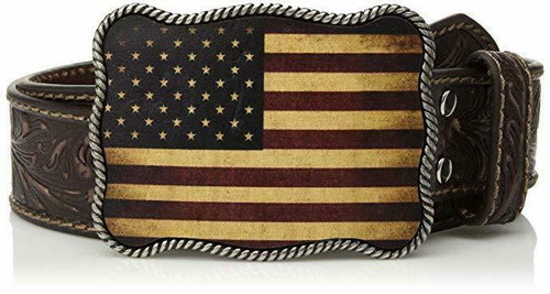 Vintage American Flag Belt by Nocona Belts N2411402