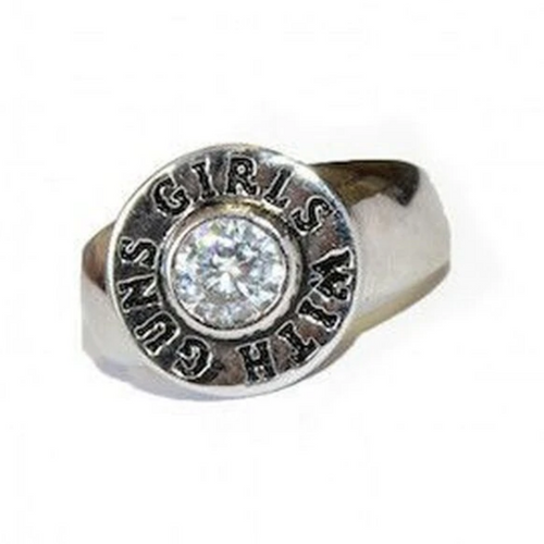 Discounted!  Girls With Guns Ring by Montana Silversmiths RG2785GWG