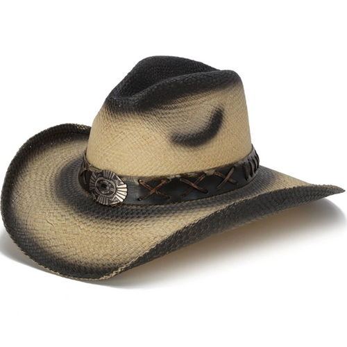 Panama Straw Western Frontier Hat By California Hats CA-1710