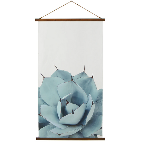 Rolled Canvas Succulent Wall Decor 168482