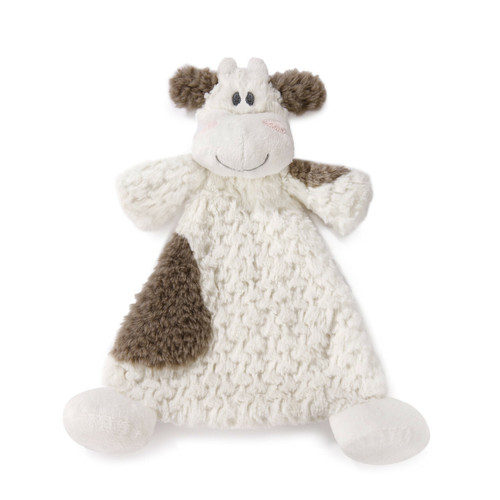 Moozer Cow Rattle Blankie By Demdaco 5004700209