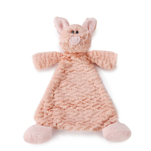 Pudder Pig Rattle Blankie By Demdaco 5004700214