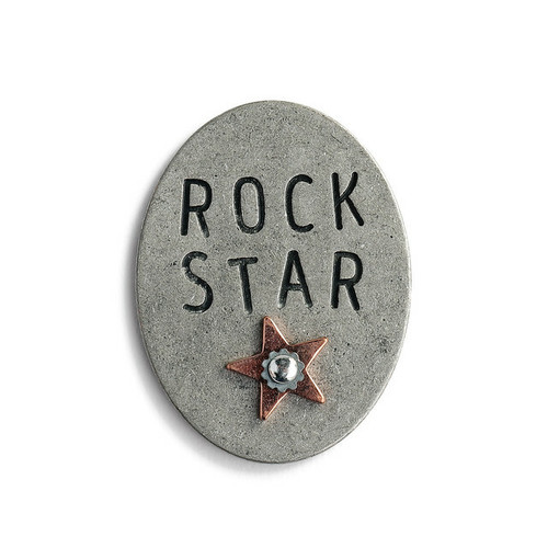 Rock Star Oval Token By Demdaco 1004400081