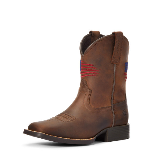 Children's Patriot II Cowboy Boot by Ariat 10034408