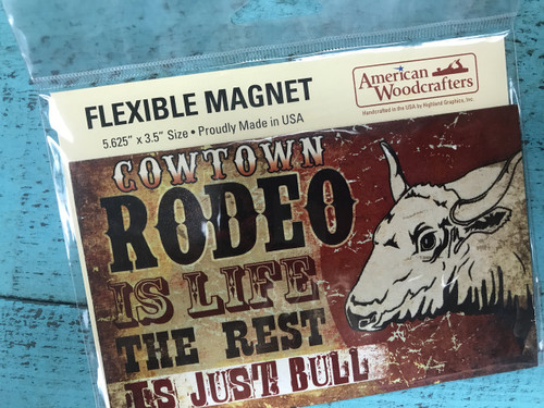 Cowtown Rodeo Magnet