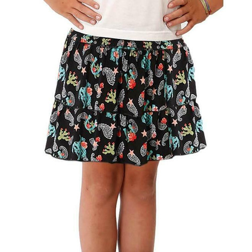 Children's Western Print Ruffle Skirt by Roper 3-260-0590-4061